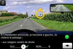 Application mobile pour apprendre le code de la route